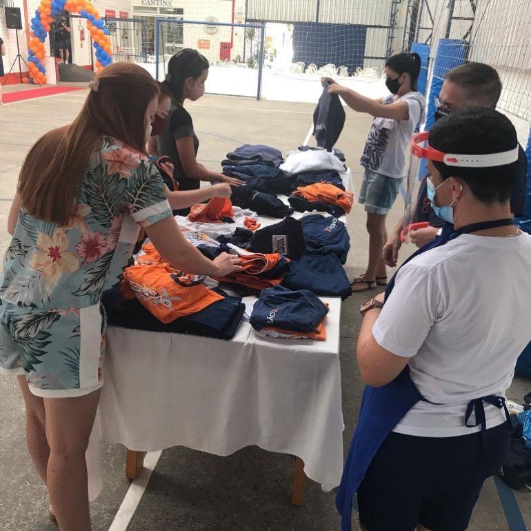 Troca-troca de uniformes