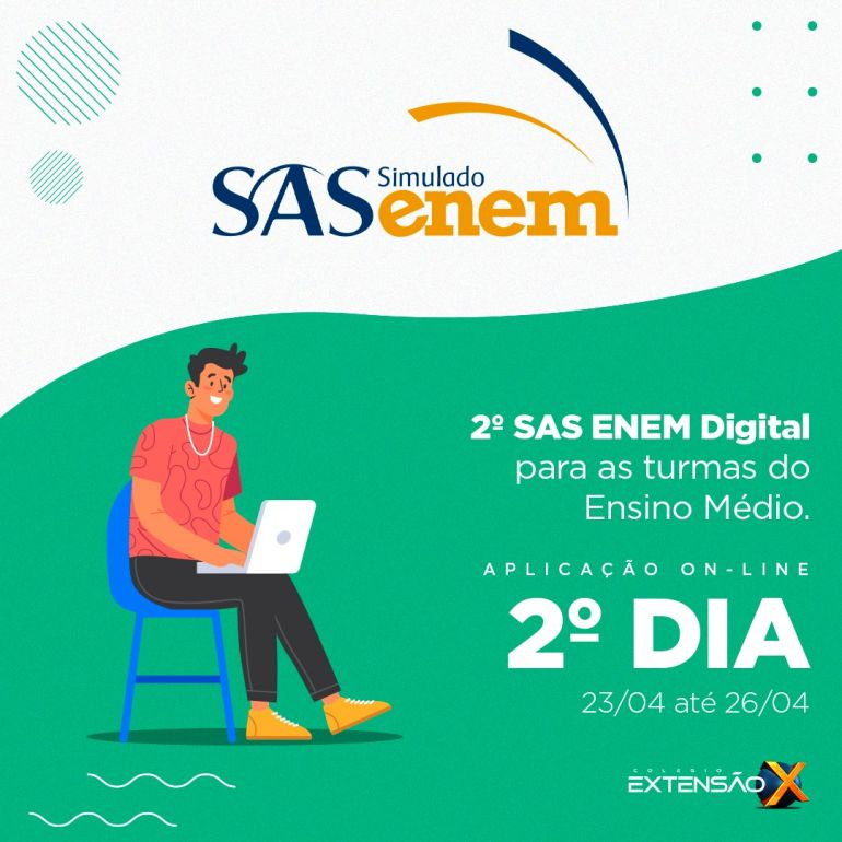 2º dia do 2º SAS ENEM 2021