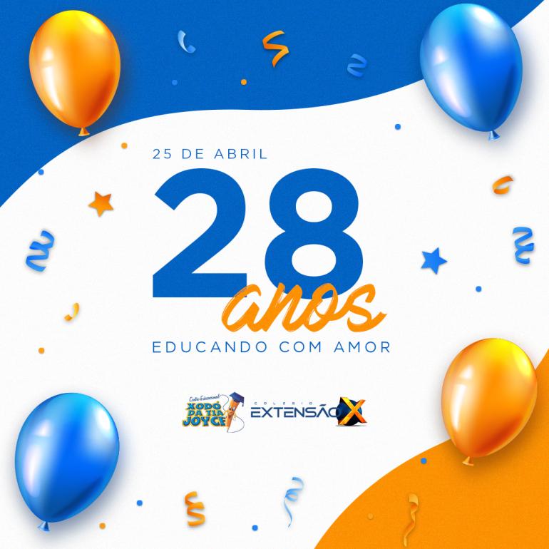 28 anos de fundação