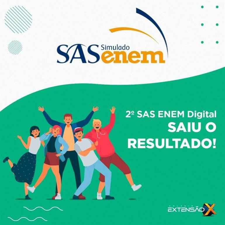 Saiu o resultado do 2º SAS ENEM